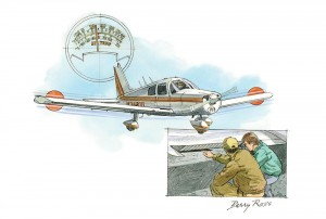 The art from my article in Flying by Barry Ross.